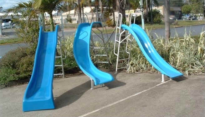 Fgm for How to build a swimming pool slide